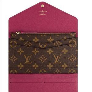 Louis Vuitton Josephine Wallet - Fuchsia
